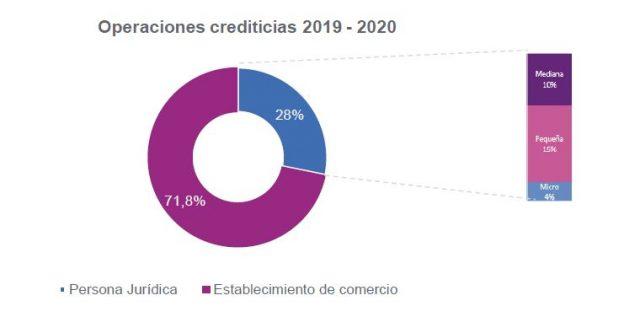 Operaciones crediticias 2019 2020