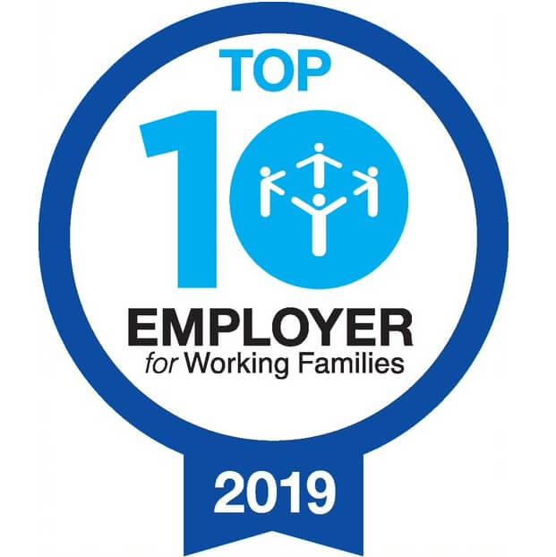 Los 10 lugares de trabajo más aptos para familias