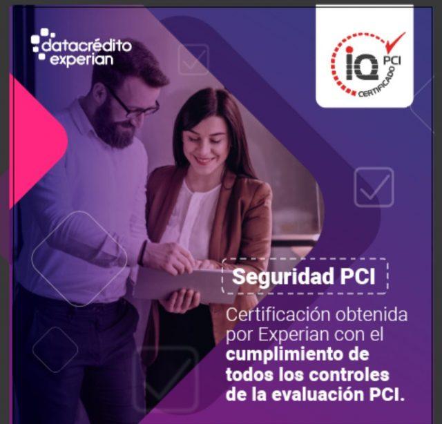 Certificación de Cumplimiento en el estándar de seguridad PCI