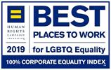 2019 Mejor lugar para trabajar para LGBTQ +